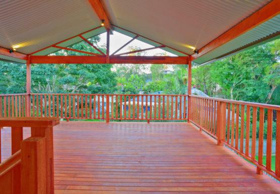 Photo of rustic deck north brisbane